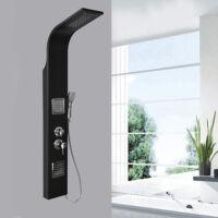 Kea Black rozsdamentes zuhanypanel