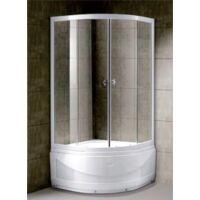 Szonja Magas zuhanytálcás Zuhanykabin 90x90cm íves tálcával