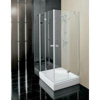 Kolpa-San Stella TKK 80 Króm, 80x80 cm zsanéros szögletes zuhanykabin