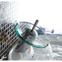 Üvegtányéros mosdó csaptelep