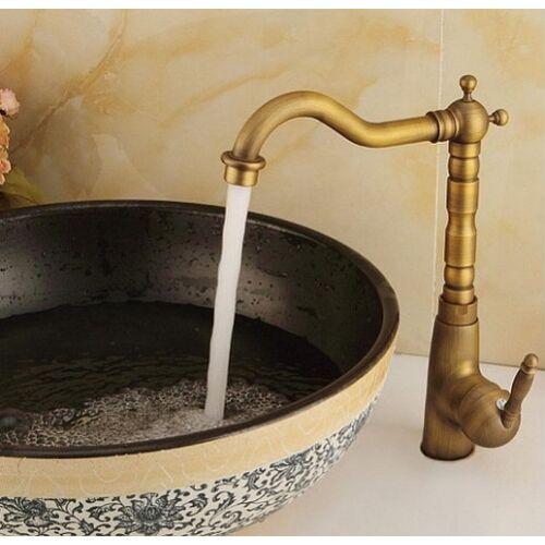 Bronz antik egykaros mosdó - Vintage mosogató csaptelep