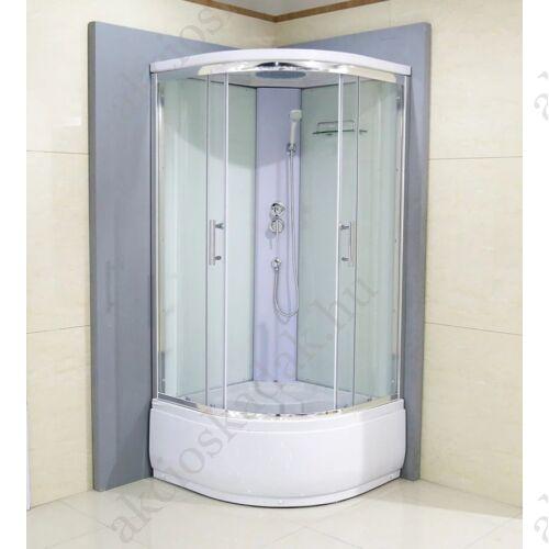 Benita  Magastálcás 90cm hátfalas zuhanykabin