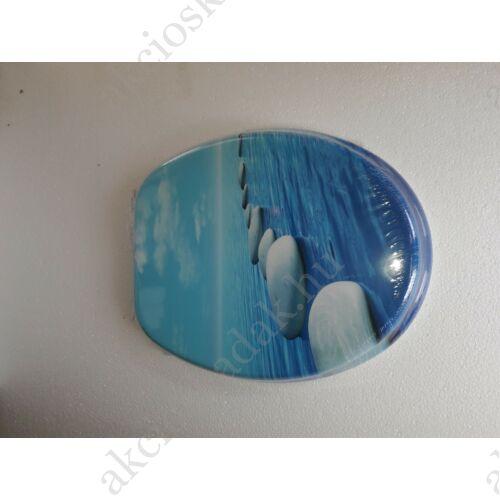 Kavics  színes MDF WC ülőke, 3 oldalon festett