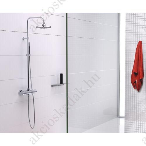 Petra Termosztátos zuhanyrendszer zuhanycsaptelep zuhanyszettel,és esőztetővel