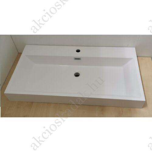 Jasmin öntött márvány mosdó 90x45 cm