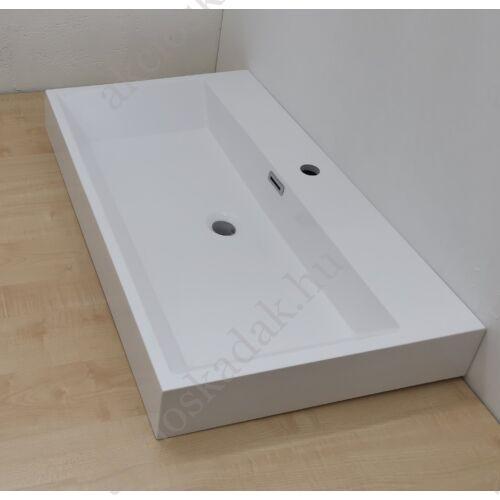 Dália öntött márvány mosdó 80x48x10 cm
