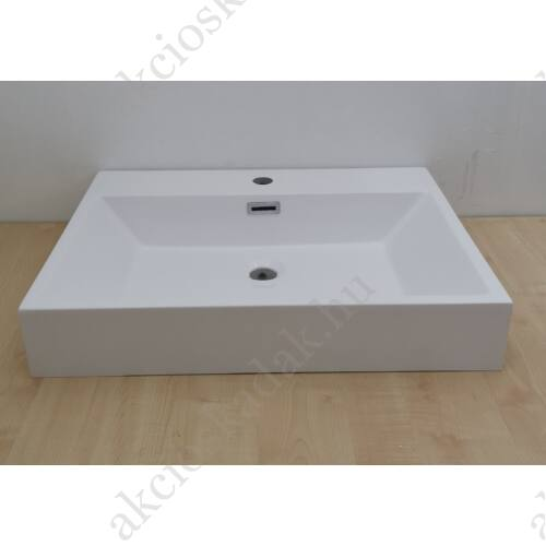 Jasmin öntött márvány mosdó 60x45 cm